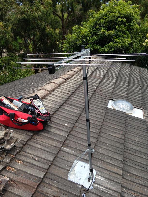 Photos Of Our Work Australian Tv Antennas