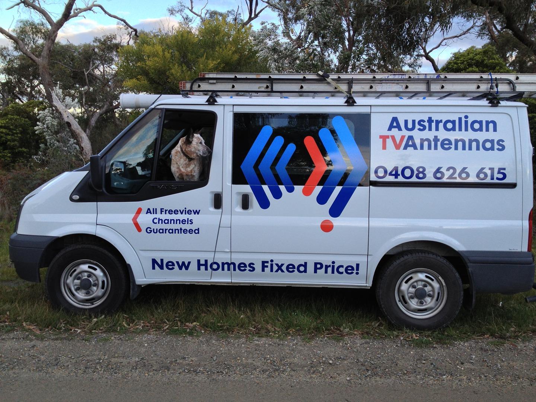 Australian tv antennas van